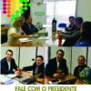 Presidente da ACIC recebe associados e representantes do Comitê  da Bacia Hidrográfica do Rio Canoinhas na primeira edição do  Fale com o Presidente