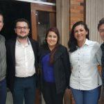 Representantes do Núcleo de Jovens Empreendedores da ACIC participam do Happy Hour dos Núcleos, em São Bento do Sul