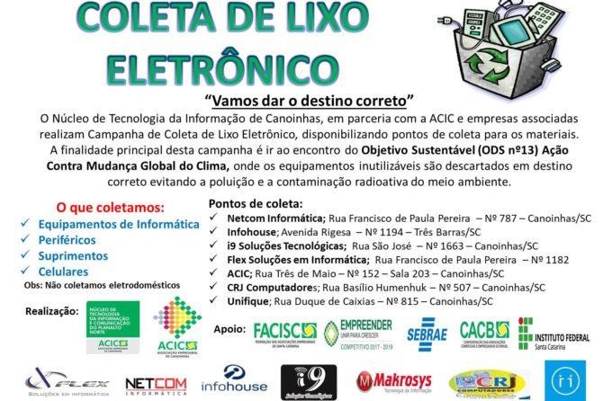NTIPlan Realiza Campanha de Coleta de Lixo Eletrônico