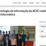 Núcleo de Tecnologia da Informação da ACIC realiza o III Workshop de Informática – Fonte: FACISC