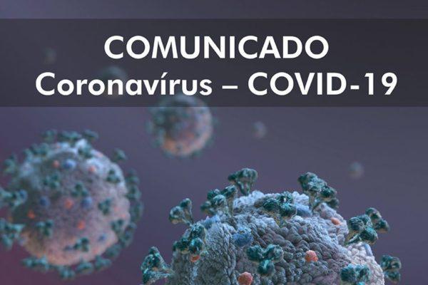 9º. COMUNICADO COVID19 – Documento aos Secretários da Fazenda, da Administração e a Defesa Civil