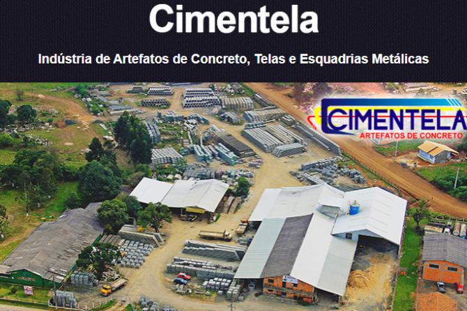 CIMENTELA IND. DE TELAS E ARTEFATOS DE CONCRETO LTDA